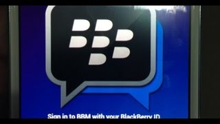 Official: Nuevo BBM PIN Para Android Y IPhone (Descargar