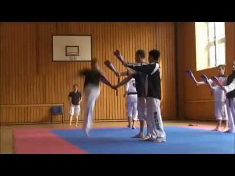Moohwa Taekwondo Demo Team - 2nd TRAINING CAMP 2012