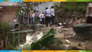 Constatan regidores las afectaciones ocasionadas por las recientes lluvias