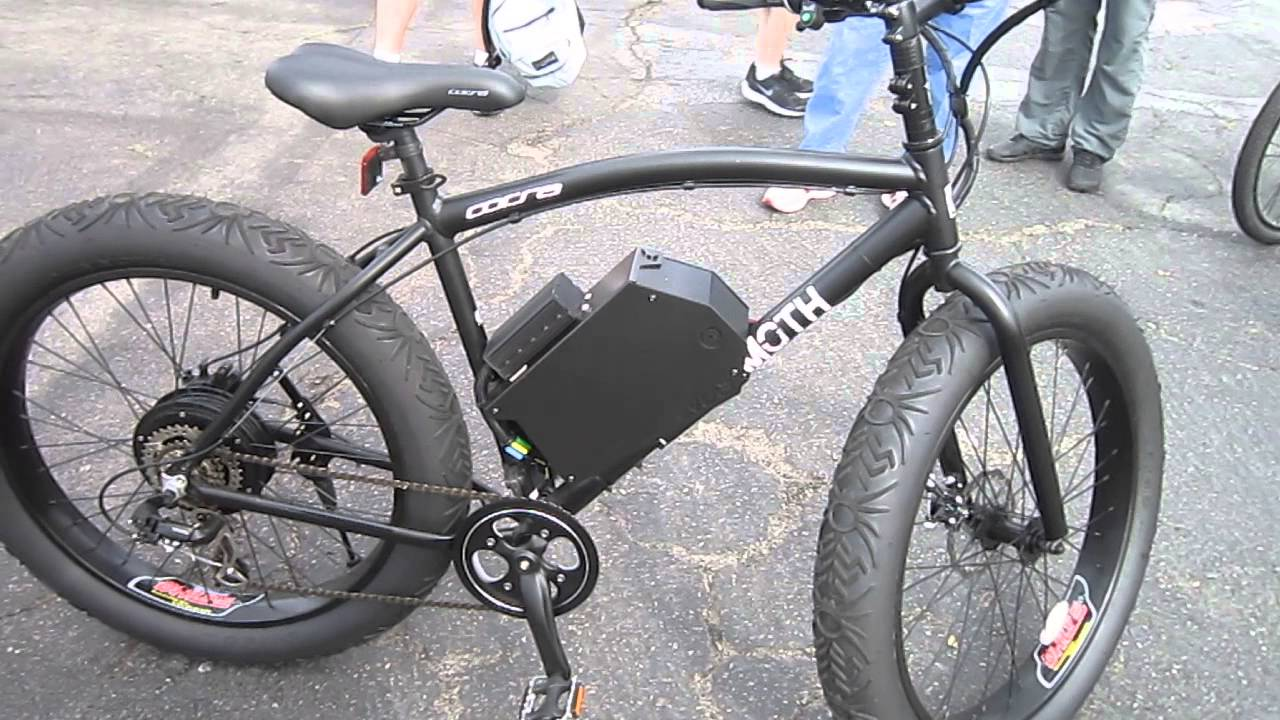 Mammoth Corsa Fat Tire Sand Bike With A E Bike Conversion