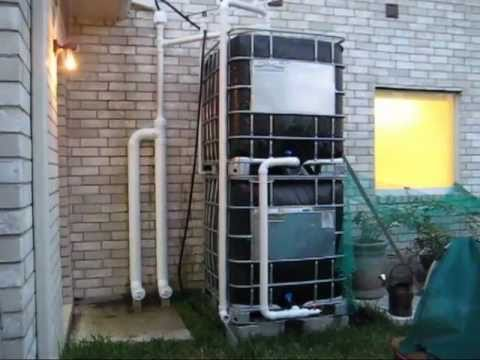 Rainwater Collection System Part 7 First Flush System