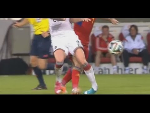 Marco Reus Injury vs Armenia- Germany - Armenia Friendly 05/06/2014 HD
