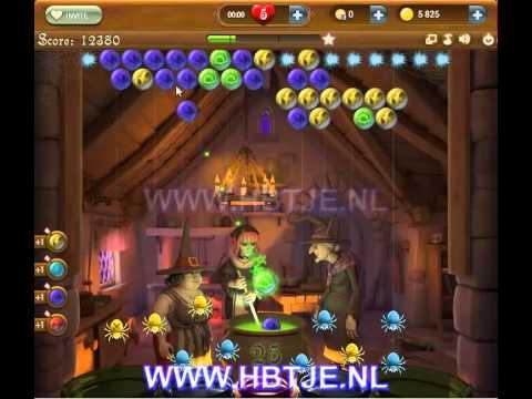 Bubble Witch Saga level 4