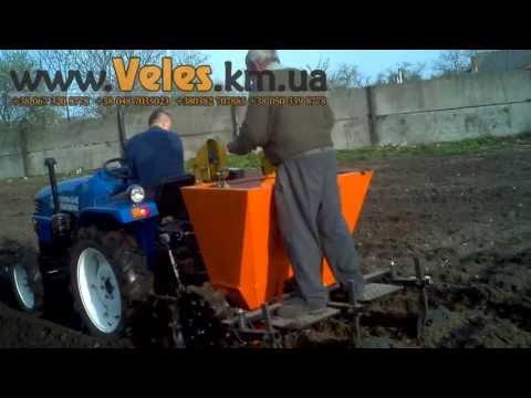 Картоплесажалка двухрядная Velmet VKS-2