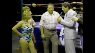 Delta Dawn Vs Shallamar: Women's Wrestling 1987