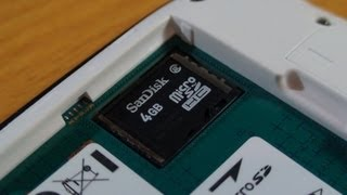 How To Insert Micro SD Card Samsung Galaxy S3 Mini