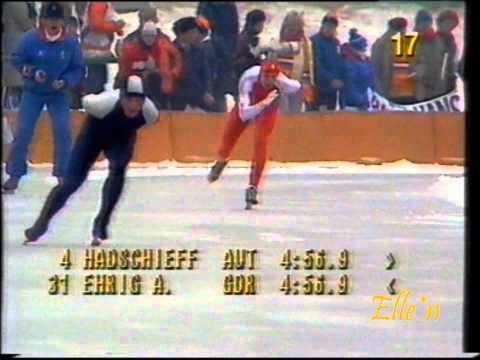 Olympic Winter Games Sarajevo 1984 – 10 km Hadschieff – Ehrig
