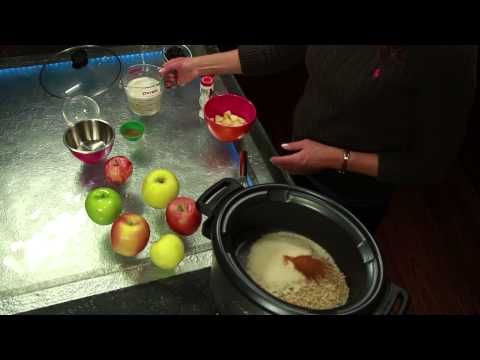 Rice Pudding With Raisins & Apples in a Slow Cooker : Healthy Ways to Prepare Apples