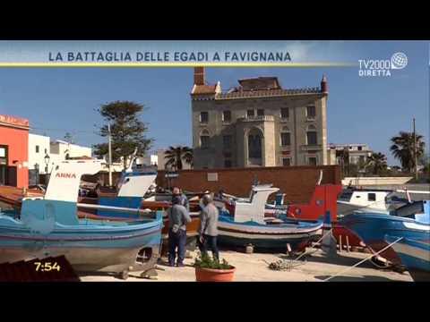 La battaglia delle Egadi a Favignana