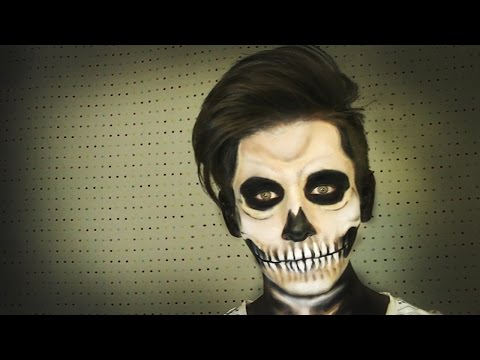 Maquillaje de Calavera / Skull Make up (Halloween) - Soy Georgio