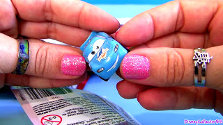 Micro Drifters Toy Surprise Bags CARS 2 Gold Francesco
