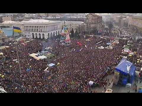 New laws spark a fresh mass-protest in Ukraine