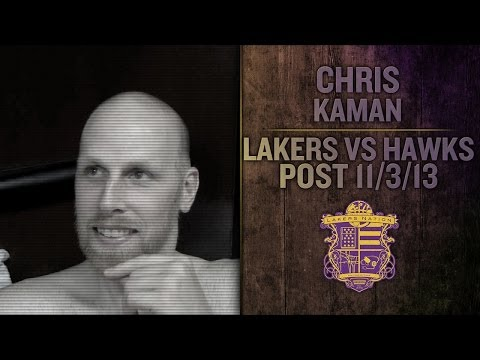 Lakers Vs. Hawks: Chris Kaman Wants To Play More With Pau Gasol