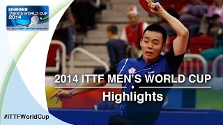 Review all the highlights from the CHEN Chien-An TPE vs CRISAN Adrian Qual Groups first stage table tennis match at the2014...</div><div class=