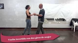 Aprende a bailar salsa. 11 vueltas