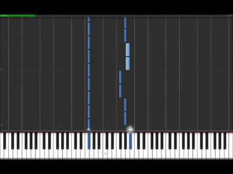 Hypnotize - System Of A Down (Easy Piano Tutorial) in Synthesia (100% speed)