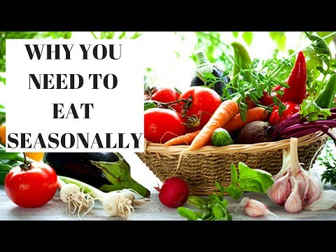 Seasonal Diet - The best way to eat healthy.