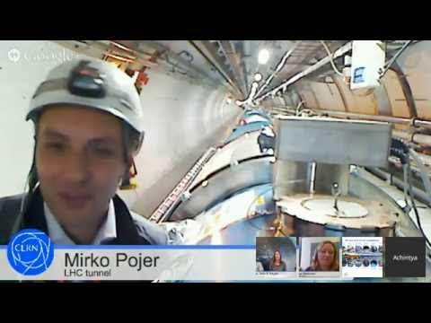 Hangout with CERN: LHC -- why no beam?