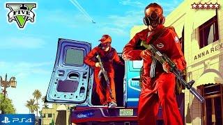 GTA 5 Next Gen First BIG HEIST! Grand Theft Auto 5