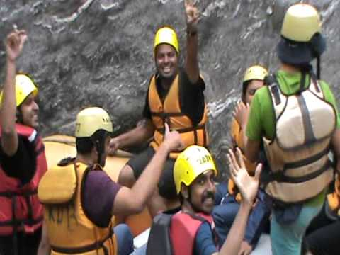 River Rafting by BTC Bikers in Beas River