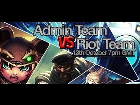 Gaelic Gaming vs Riot Games ft. Uberdanger and Sseth