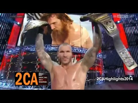WWE Elimination Chamber 2014 Highlights HD