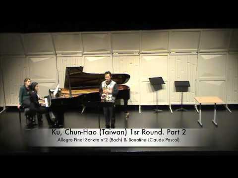 Ku, Chun Hao Taiwan 1sr Round Part 2