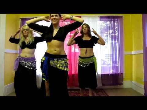 Hình ảnh trong video Northshore Belly Dance, Beginner Belly Class