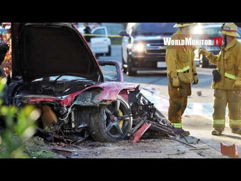 PAUL WALKER 'Fast and the Furious' Dead at 40 in Fatal car crash Valencia, California