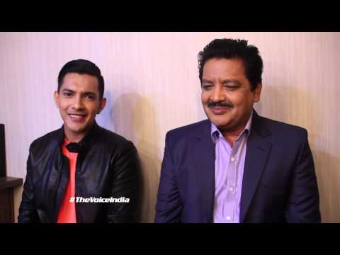 Father-Son singing duo Udit & Aditya Narayan on The Voice India