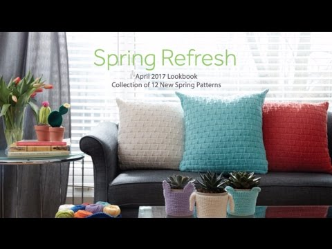 Lookbook: Spring Refresh - Free Patterns & Supporting Tutorials