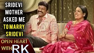 Actor Rajasekhar says Sridevi's mother approached him to m..