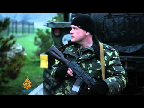 Russia and Ukraine in Crimean port standoff