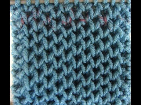 Κυψελωτή πλέξη - Honeycomb Brioche