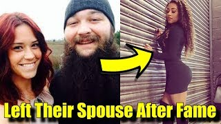10 Wrestlers Who LEFT Their SPOUSE After FAME! - Bray Wyatt, John Cena & More!