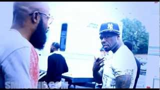 50 CENT CLOWNING AND GET AT YAYO ABOUT TIGHT JEANS ON CDUBTV ATL