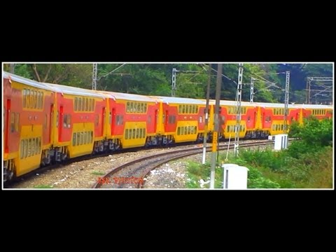 Complete Journey By Double Decker Express : Bangalore to Chennai