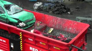 Hammel VB 950DK Car Shredder at CARS Expo 2012