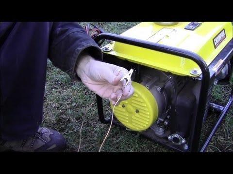 Grounding a Portable Generator - m Community Forums