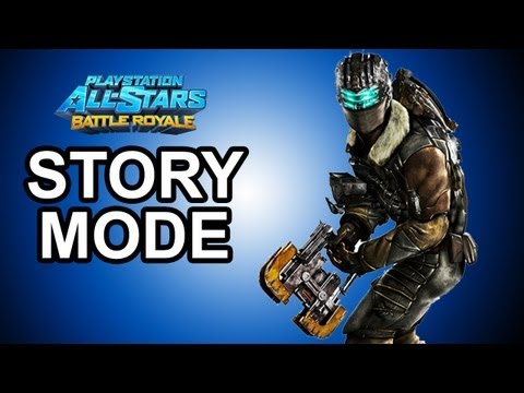 Playstation All Stars Battle Royale - DLC: Isaac Clarke Story Mode Walkthrough!!