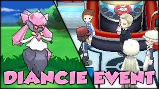 Pokémon X And Y Diancie Event And Shiny Diancie!