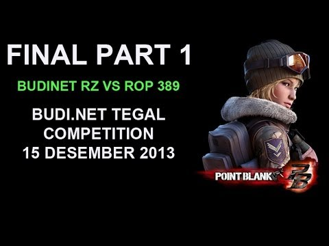 Warnet BudiNet Tegal, Warnet Tercepat Di Indonesia, Final Tournament Point Blank Part 1
