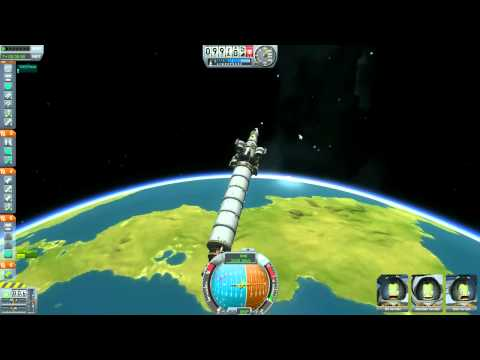 Kerbal Space Program Ep. 10 - To the Mun! [Dedicated to Neil Armstrong] [1/3]