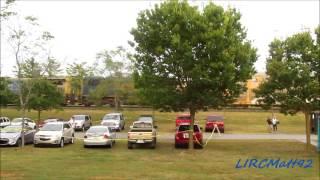 CSX freight train interrupts concert @ Columbus Indiana