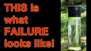 'Self-Filling Water Bottle' Anatomy of a scam-starter FAIL!