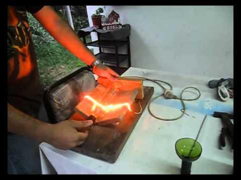 Como hacer vasos con botellas de vidrio youtube - Como cortar botellas de vidrio ...