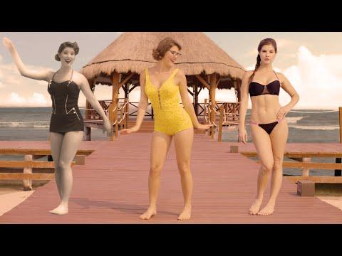 Еволуцијата на бикините од 1890 до денес