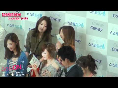 Snsd SooSun Moment #23 110927(Ver.2)Woongjin Coway Event