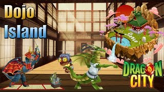 Dragon City Dojo Island Karate , Shogun Y Oni Dragon