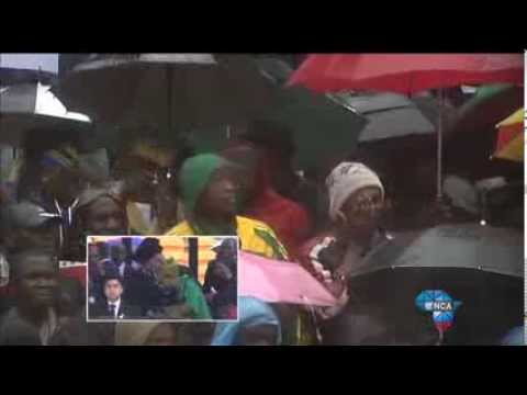 Jacob Zuma heckled by crowd at FNB Stadium